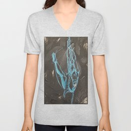 Swinging High Unisex V-Neck
