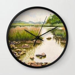 River side Wall Clock