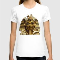 egypt T-shirts featuring Egypt King Tut by Erika Kaisersot