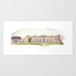 Seamen's Hospital, Greenwich, London, UK Art Print