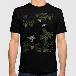 FLYING SQUIRRELS IN THE PINES T-shirt