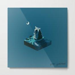 Moonscape III Metal Print
