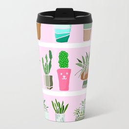 Shelfie cactus print Travel Mug