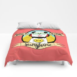 Don't Steal My Sunshine Comforters