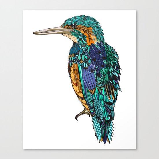 Bird X Canvas Print