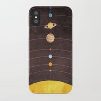 solar system iPhone & iPod Cases featuring Solar System by Annisa Tiara Utami