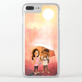 Love Trumps Hate #3 Clear iPhone Case