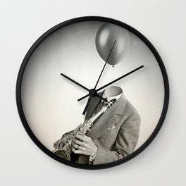 Head in the clouds IIII Wall Clock