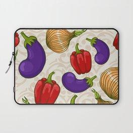 Cute vegetable pattern Laptop Sleeve