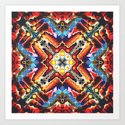 Colorful Tribal Motif by perkinsdesigns