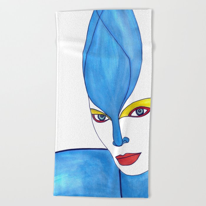Shaima (previous age) Beach Towel