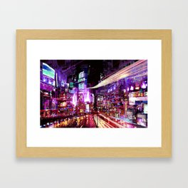 Future City Framed Art Print