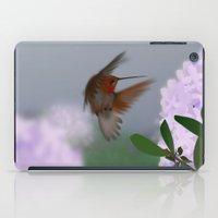 hummingbird iPad Cases featuring Hummingbird by dBranes
