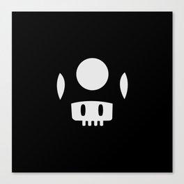Minimal Mushroom Canvas Print