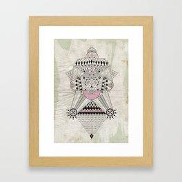 Dirty Inca Framed Art Print