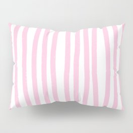 Pink Stripes Pillow Sham