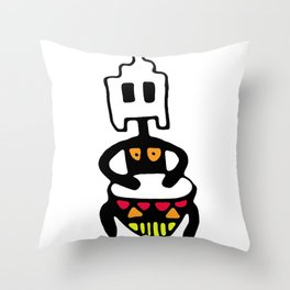 Drummer 2 Throw Pillow