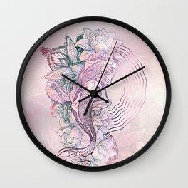 Koi Fish Mandala Wall Clock