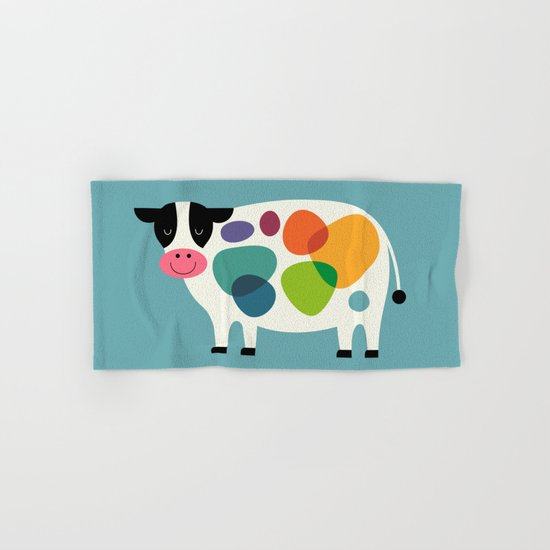 Awesome Cow Hand & Bath Towel