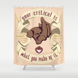 RNGesus Shower Curtain