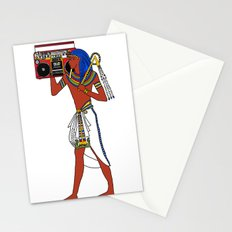 Rock Like an Egyptian Stationery Cards