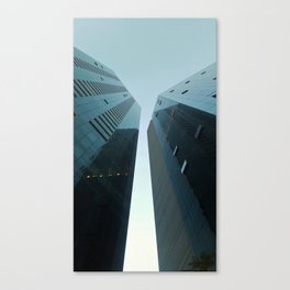 Two glass giants Canvas Print