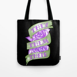 They/Them/Their Tote Bag
