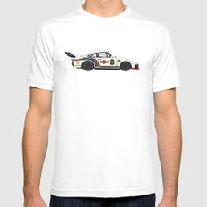 Martini Racing White MEDIUM Mens Fitted Tee