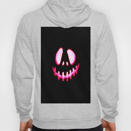 Halloween. Jack O Lantern Hot Pink & Black Hoody