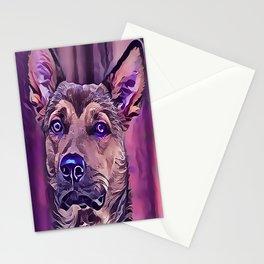 The Kunming Wolf Dog Stationery Cards
