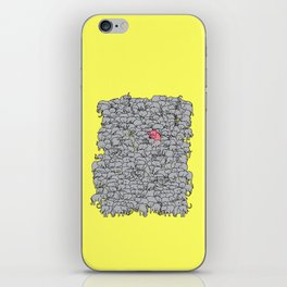 Stand Out & Be Herd iPhone Skin