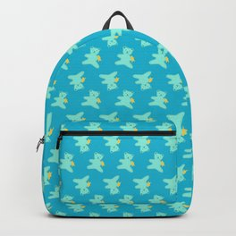 Turquoise Bear Backpack