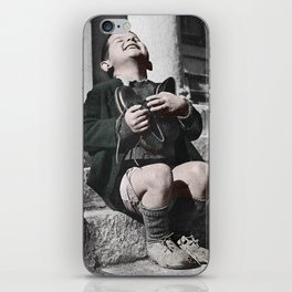 Colourised: Austrian Boy iPhone Skin
