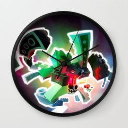 Ablogical Binding Substance Wall Clock