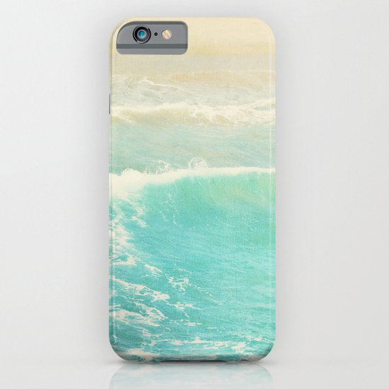 beach ocean wave. Surge. Hermosa Beach photograph iPhone & iPod Case