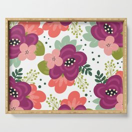 Blooming Florals Serving Tray