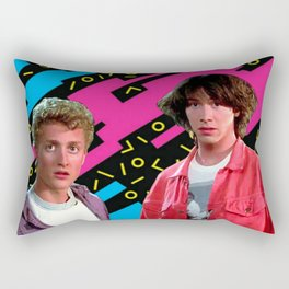 Bill and Ted x Rectangular Pillow