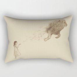Sandy the Lion Rectangular Pillow