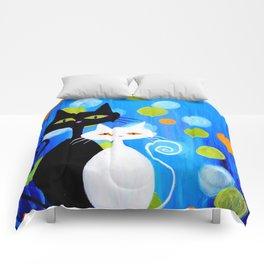 Fancy Cats Comforters