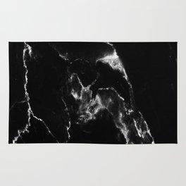 Black Marble I Rug