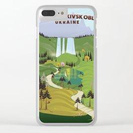 Ivano-Frankivsk Oblast Ukraine Clear iPhone Case