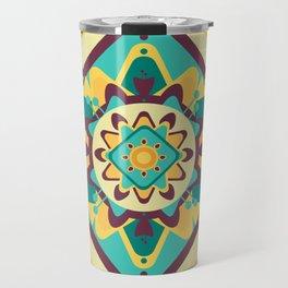 Sicilian Mandala Travel Mug