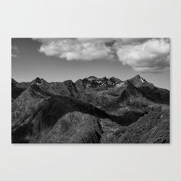 The Cuillin Ridge III Canvas Print