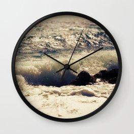 autumn sea Wall Clock