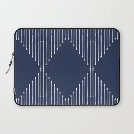 Geo / Navy Laptop Sleeve