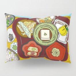 Japanese Veggie Platter Pillow Sham