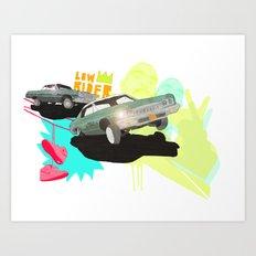Low Rider Art Print
