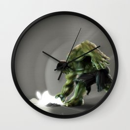 Puny Apple..... Wall Clock