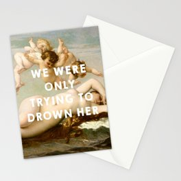 The Birth of Venus (1863), Alexandre Cabanel // The Little Mermaid (1989), Ron Clements&John Musker Stationery Cards