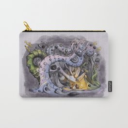 The Forest of Improbable Shapes Carry-All Pouch